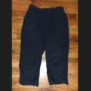 The Great polka dot pants 2 trouser pull on retro